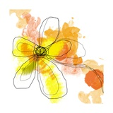 Yellow Liquid Flower