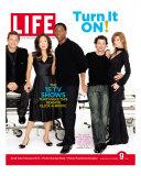 Grey's Anatomy Cast: J Chambers  S Oh  I Washington  P Dempsey and E Pompeo  September 9  2005