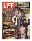 The Jackson Five with their Father and Mother  Joseph and Katherine  September 24  1971