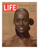 Model Naomi Sims  Black Models Take Center Stage  October 17  1969