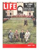 Eisenhower  Bulganin  Faure  and Eden  August 1  1955