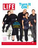 Grey's Anatomy Cast: TR Knight  K Heigl  J Pickens  C Wilson and J Chambers  September 2005