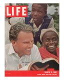 Billy Graham in Africa  March 21  1960