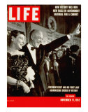 Dwight D Eisenhower and Mamie  November 17  1952