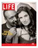 Rent Co-stars Jesse L Martin and Idina Menzel  November 25  2005