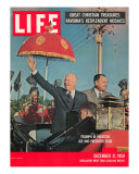 Dwight D Eisenhower with Pakistani President Ayub  December 21  1959