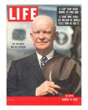 Dwight D Eisenhower  March 12  1956