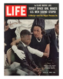 Child and Widow of Murdered Civil Rights Activist Medgar Evers at his Funeral  June 28  1963