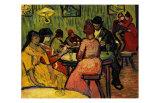 Café de nuit Reproduction d'art par Vincent Van Gogh