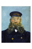 The Postman: Joseph Roulin Reproduction d'art par Vincent Van Gogh