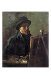 Self-Portrait with Dark Felt Hat in Front of the Easel