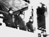 William Howard Taft Reviews Parade After his Inauguration as President  March 4  1909