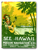 See Hawaii  Matson Navigation Co