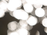 Blurry White Lights Illuminating