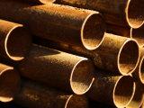 Pile of Rustic Metal Pipes