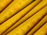 Overlapping Tape Measure Background