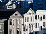 Historic Victorian Houses in San Francisco  California