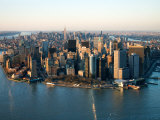 Aerial View of Buildings and High Rises in New York City  New York