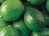Close-Up of Pile of Fresh Limes