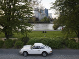 1970's Porsche 911  Riverside Park  Frankfurt-Am-Main  Hessen  Germany