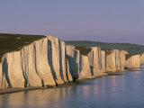 White Cliffs  Seven Sisters  East Sussex  England