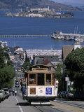 Tram  Hyde St  San Francisco  California  USA