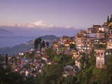 Darjeeling and Kanchenjunga  West Bengal  India