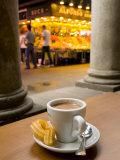 La Rambla  La Boqueria Market  Chocolate con Churros Breakfast  Barcelona  Spain