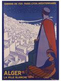 Alger Giclée par Roger Broders