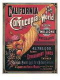 California   Cornucopia of the World  c1880