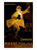 Masse Pere & Fils Champagne  c1920