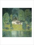 The Litzlbergkeller on the Attersee Giclée par Gustav Klimt