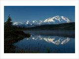 Mt McKinnley  Wonderlake  Alaska