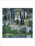 Church in Cassone Giclée par Gustav Klimt