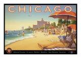 Chicago et l'air du Sud Giclée par Kerne Erickson