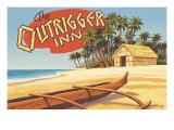Outrigger Inn, Hawaii Giclée par Kerne Erickson