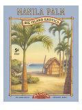 Palmier de Manille Giclée par Kerne Erickson