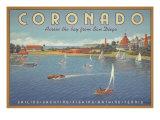 Coronado Beach Giclée premium par Kerne Erickson