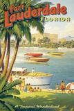 "Erickson ""Fort Lauderdale"" Giclée par Kerne Erickson"