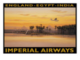Imperial Airways, Egypte Giclée par Kerne Erickson