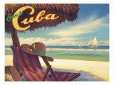 Escape to Cuba Giclée par Kerne Erickson