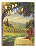 Napa Valley Giclée par Kerne Erickson