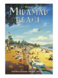Miramar Beach, Montecito California Giclée par Kerne Erickson