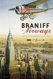 Braniff Airways - Manhattan, NY Giclée par Kerne Erickson
