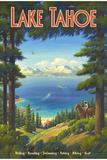 Lac Tahoe Giclée par Kerne Erickson