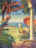 Palm Beach, Florida Giclée par Kerne Erickson