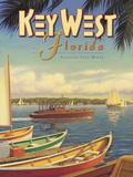 Key West, Floride Giclée par Kerne Erickson
