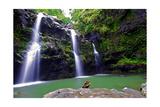 Waikamoi Falls On The Road To Hana