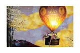 Sleep Balloon Giclée premium par Nancy Tillman