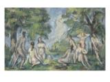 Les baigneurs Giclée par Paul Cézanne